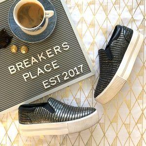 Ash Karma Embossed Slip-On Sneaker Annickel/Black